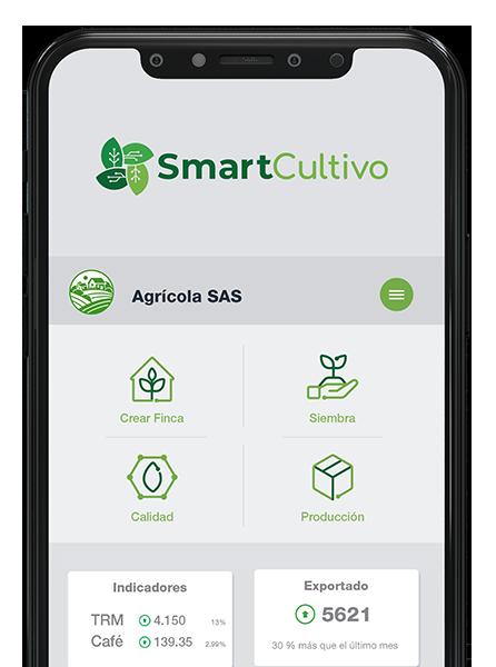 Móvil - Celular Smartcultivo - Centro de control de tu cultivo